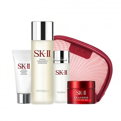 SK-II Pitera Welcome Kit with Cleanser 20g with FREE Cosmetic Pouch