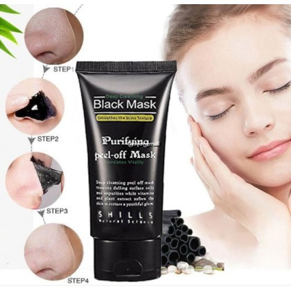 Shills Blackhead Remover Mask Purifying Face Peel off Mask Deep Cleansing Moisture 50ml