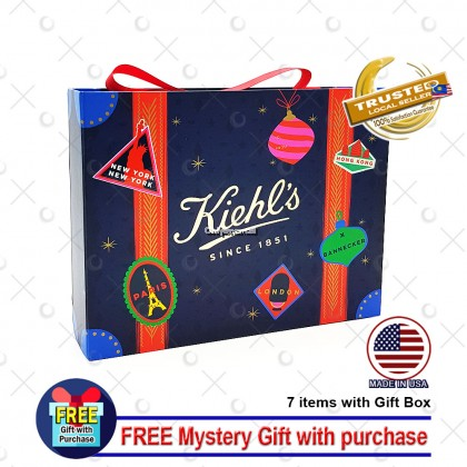 Kiehl's Holiday Limited Edition Gift Set (7 Items with Mystery Gift)