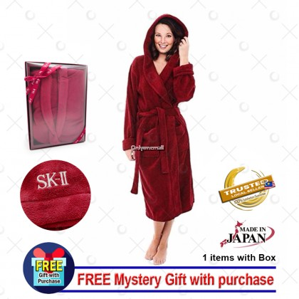 SK-II / SKII Premium Bathrobe with FREE Gift (Free Size)