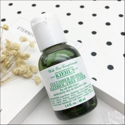 Kiehls / Kiehl's Cucumber Herbal Alcohol-Free Toner 40ml (Trial Size)
