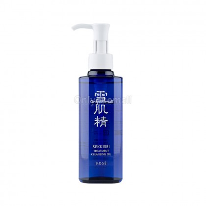 Kose SEKKISEI Treatment Cleansing Oil 160ml (With Free Gift)