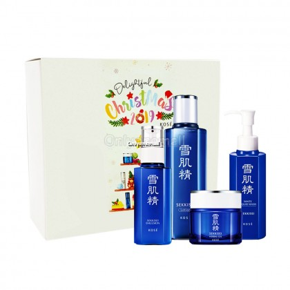 Kose Sekkisei Hydrating Set 01 (4 items with Mystery Gift)
