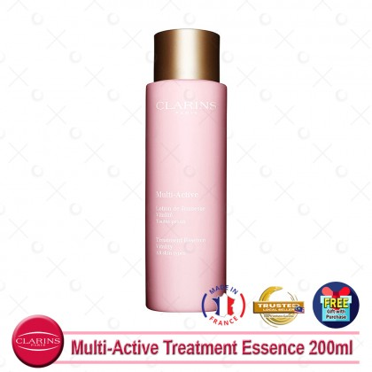Clarins Multi-Active Treatment Essence 200ml (With Free Gift)