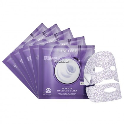 LANCOME Rénergie Multi-Lift Ultra Double Wrapping Mask x 5 (Bulk packing)