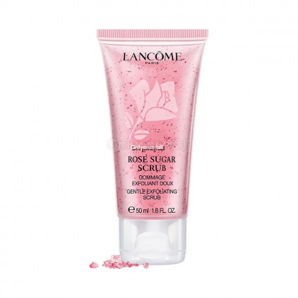 LANCOME Rose Sugar Scrub 50ml (With Free Gift)