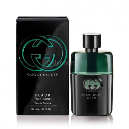 Gucci Guilty Black Pour Homme for Men EDT 90ml (With FREE Gift)