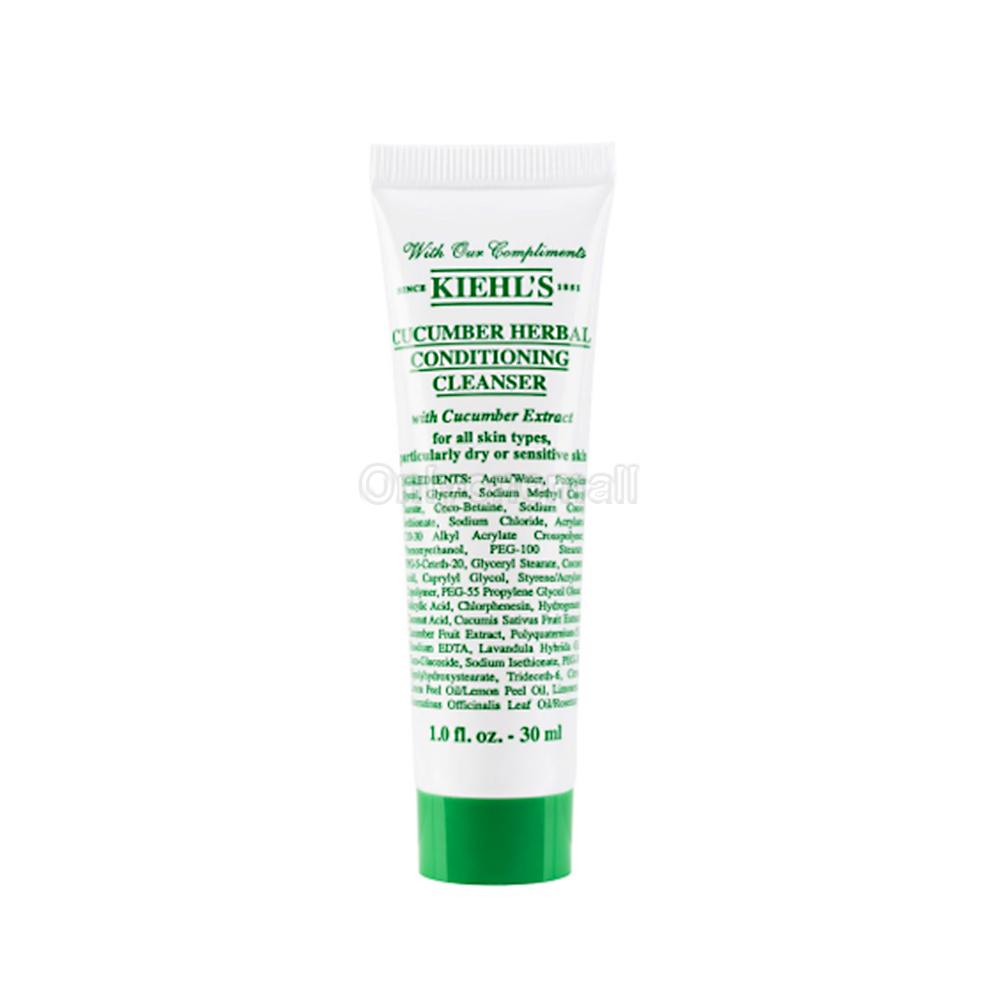 Kiehls / Kiehl's Cucumber Herbal Conditioning Cleanser 30ml (Trial Size)