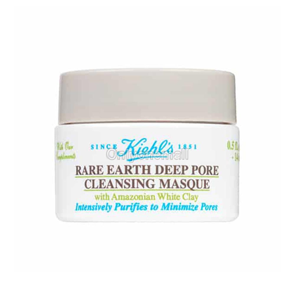 Kiehls / Kiehl\'s Rare Earth Deep Pore Cleansing Masque 14ml (Trial Size)
