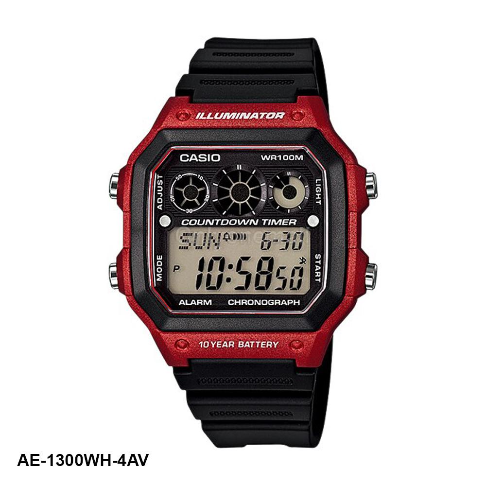 Casio AE-1300WH-4AV HIIT Training Watch