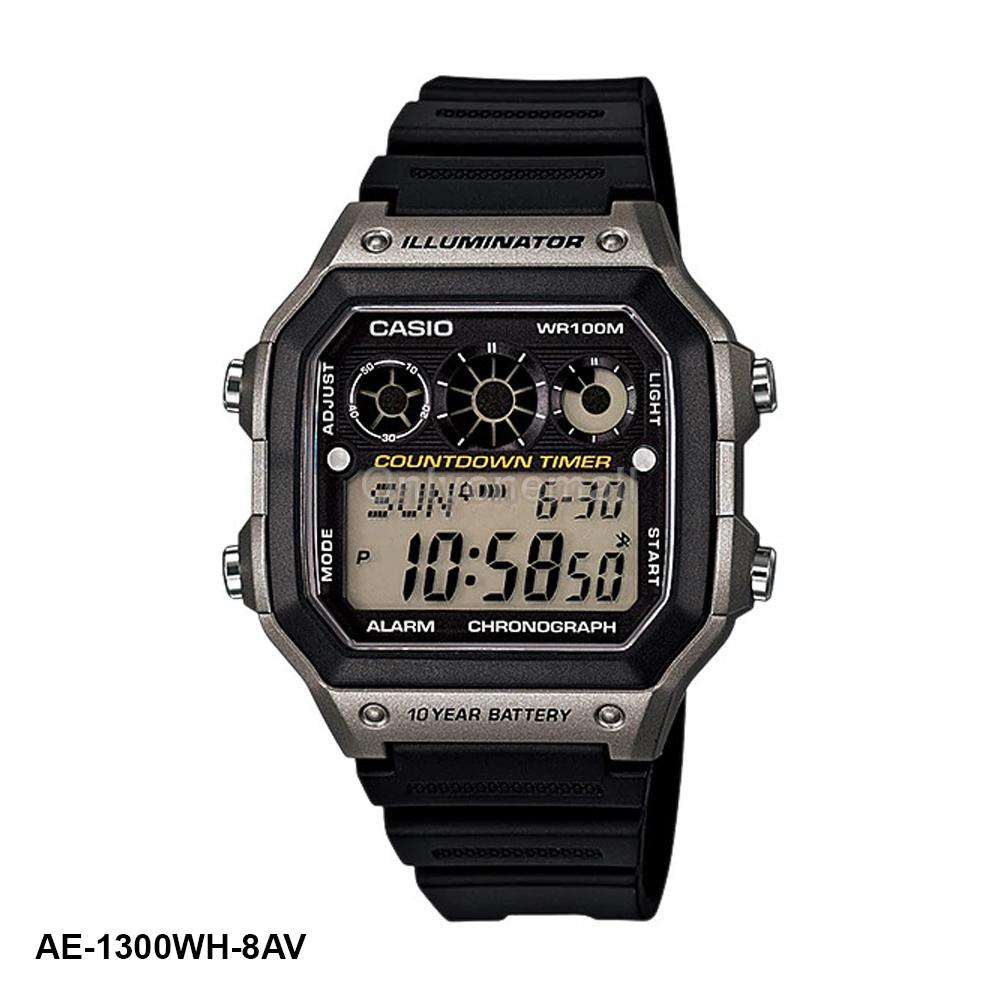 Casio AE-1300WH-8AV HIIT Training Watch