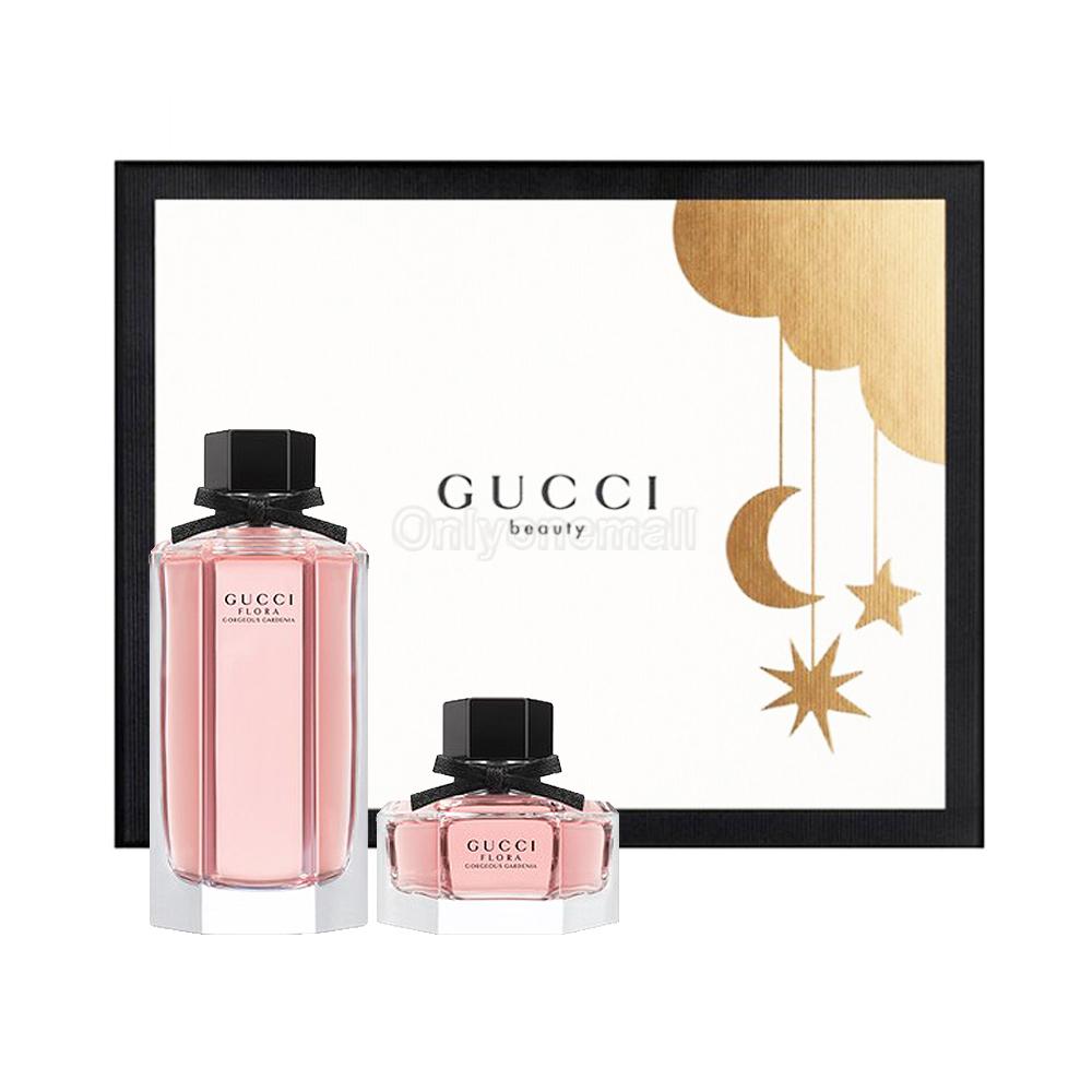 Gucci Flora Gorgeous Gardenia EDT 100ml Gift Set (Limited Set)