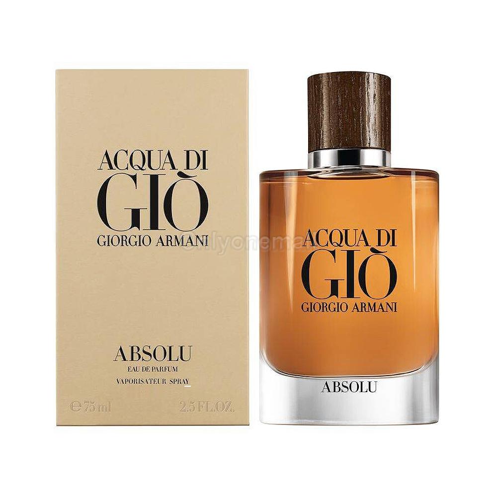 Giorgio Armani Acqua Di Gio Absolu EDP 75ml (With FREE Gift)
